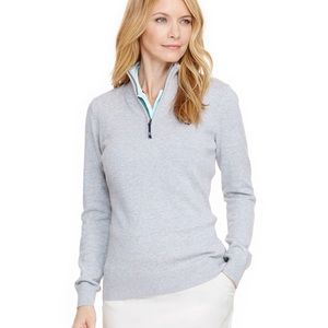 Vineyard Vines Golf 1/4 Zip Cotton Sweater